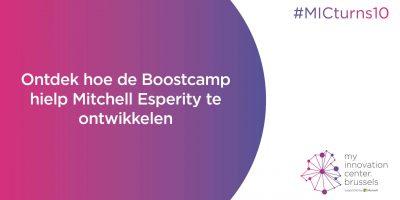 Ontdek welke rol Boostcamp heeft gespeeld in de ontwikkeling van Esperity!