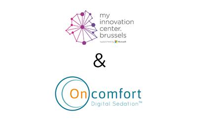 Les stagiaires de mic.brussels contribuent au futur passionnant de la Sédation Digitale™ chez Oncomfort